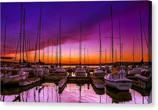 Ariana's Sunset Canvas Print