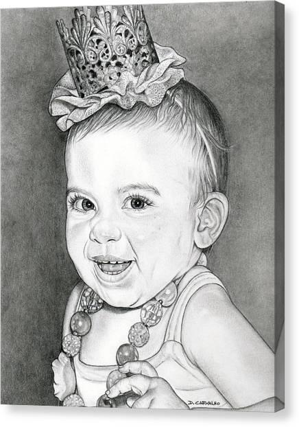 Arianna Canvas Print