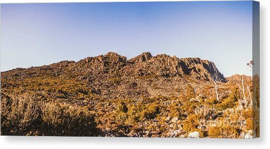 Geology Canvas Print - Arid Australian Panoramic by Jorgo Photography - Wall Art Gallery