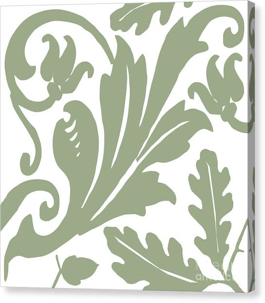 Artichoke Canvas Print - Arielle Olive by Mindy Sommers