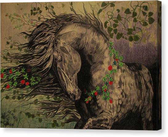 Aristocratic Horse Canvas Print