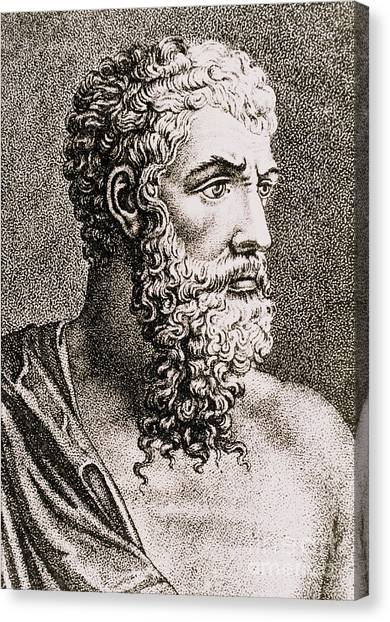 Notable Canvas Print - Aristotle, Ancient Greek Philosopher by Science Source