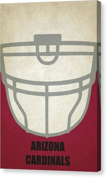 Arizona Cardinals Canvas Print - Arizona Cardinals Helmet Art by Joe Hamilton