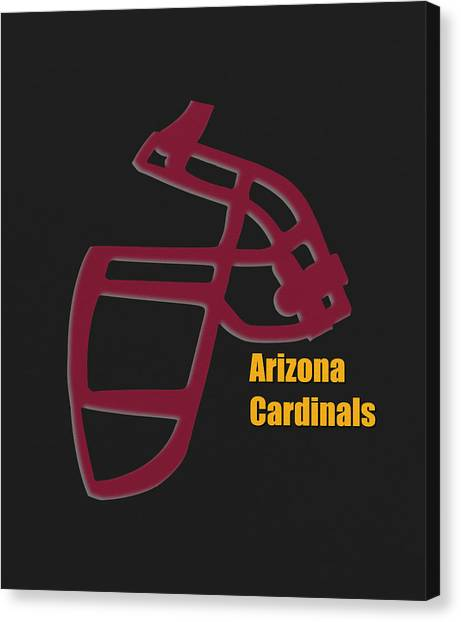 Arizona Cardinals Canvas Print - Arizona Cardinals Retro by Joe Hamilton