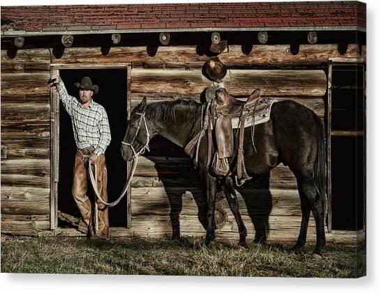 Arizona Cowboy Canvas Print