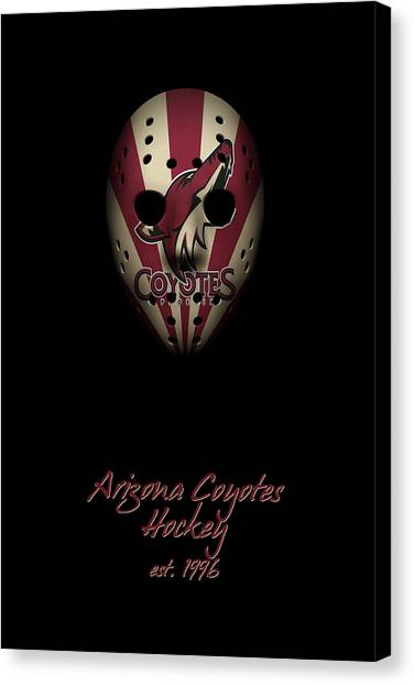 Arizona Coyotes Canvas Print - Arizona Coyotes Established by Joe Hamilton
