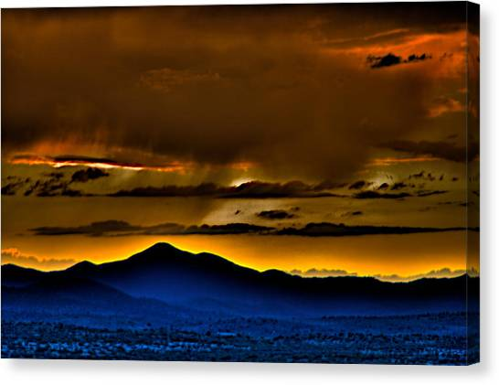 Arizona Dusk Canvas Print