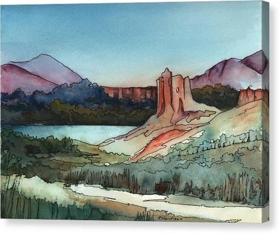 Arizona Hills Canvas Print by Robynne Hardison