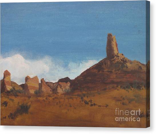 Arizona Monolith Canvas Print