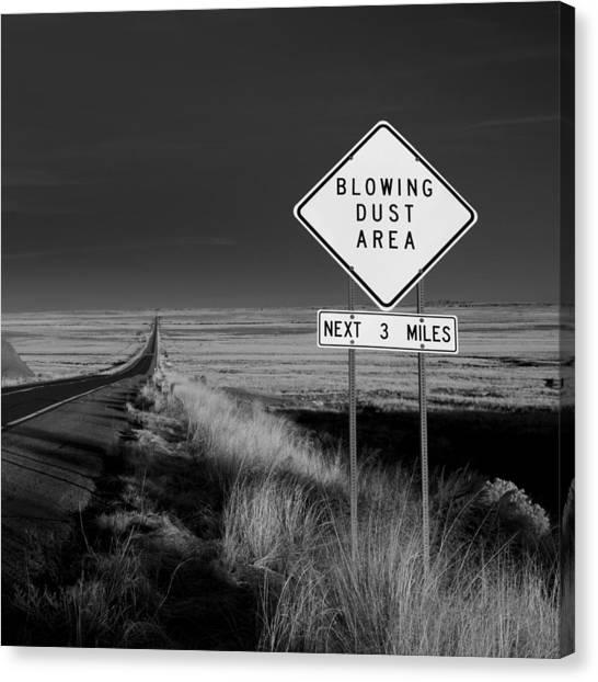 Arizona Road Canvas Print