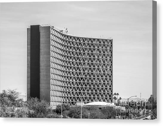 Pac 12 Canvas Print - Arizona State University Manzanita Hall by University Icons