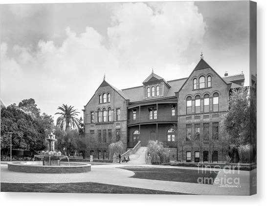 Pac 12 Canvas Print - Arizona State University Old Main by University Icons