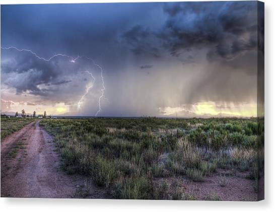 Arizona Storm Canvas Print