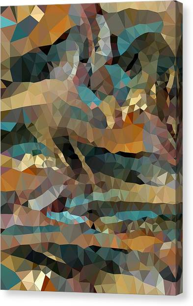 Arizona Triangles Canvas Print