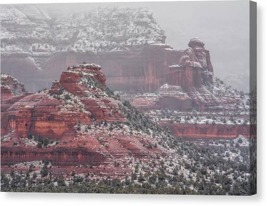 Arizona Winter Canvas Print