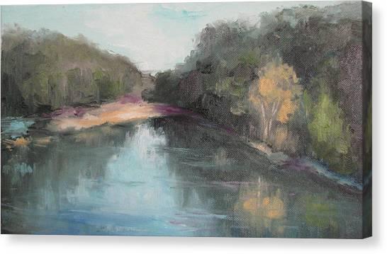 Arkansas River Scene Canvas Print