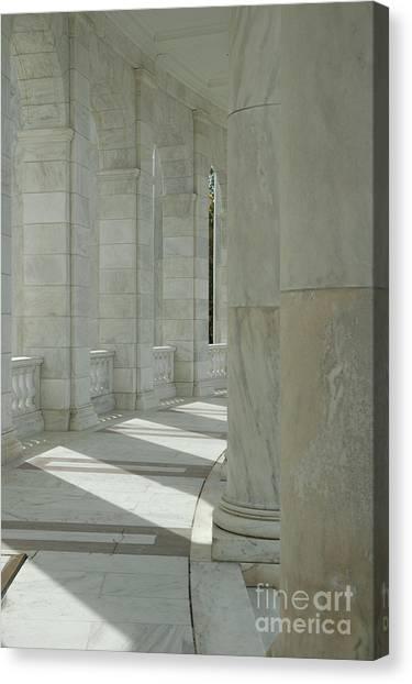 Arlington Memorial Amphitheater Hall Canvas Print