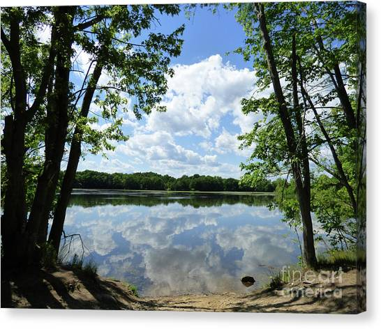 Arlington Reservoir Canvas Print
