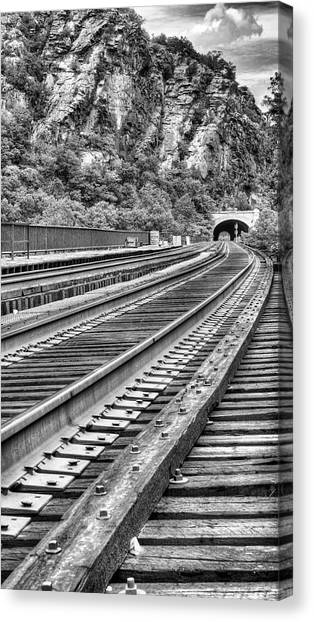 Around The Bend Canvas Print by JC Findley