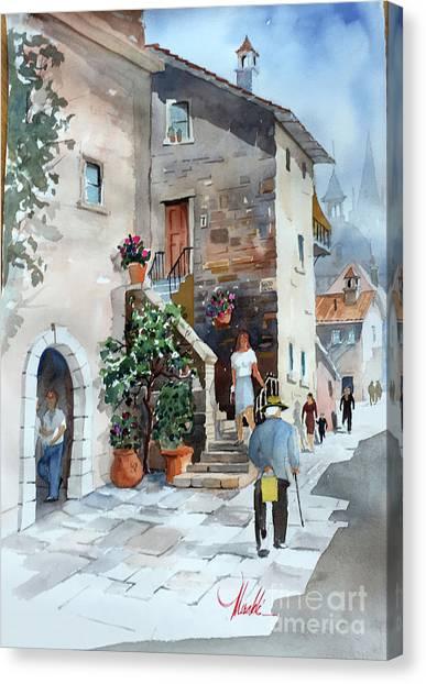 Arrezo-3 Canvas Print