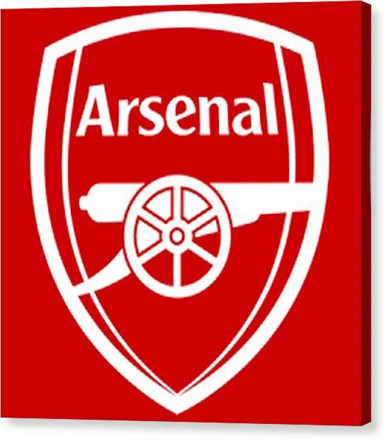 Arsenal Fc Canvas Print - Arsenal by Pillo Wsoisi