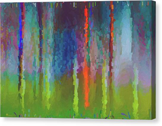 Art Abstract Canvas Print by Jim Hatch