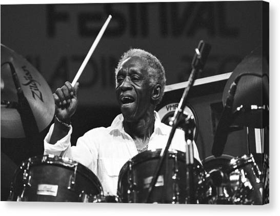 Art Blakey Canvas Print