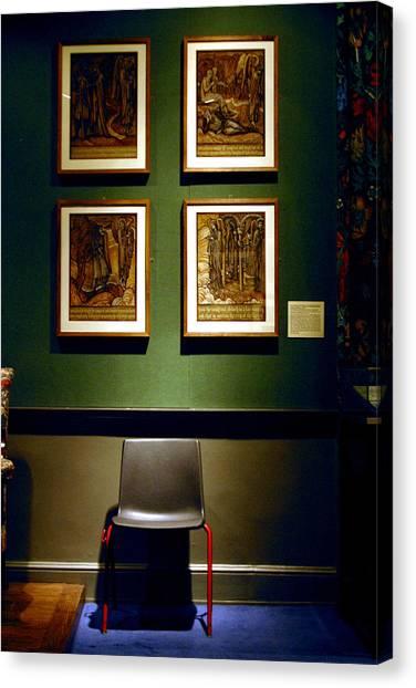 Art Chair Canvas Print by Jez C Self