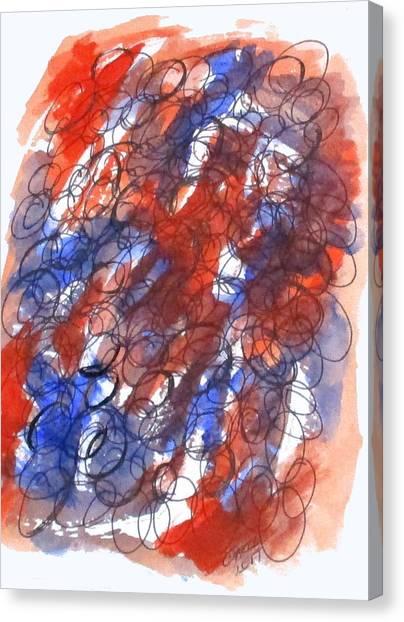 Art Doodle No. 28 Canvas Print