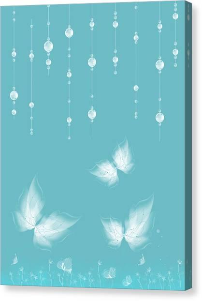 Art En Blanc - S11a Canvas Print