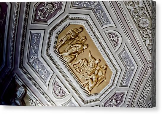 The Vatican Museum Canvas Print - Art Illusion - Vatican Museum by Jon Berghoff