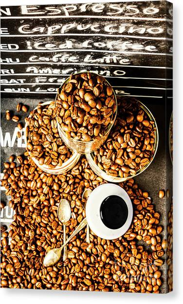 Coffee Shops Canvas Print - Art In Commercial Coffee by Jorgo Photography - Wall Art Gallery