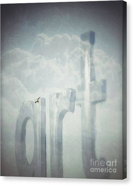 Art In The Clouds Canvas Print