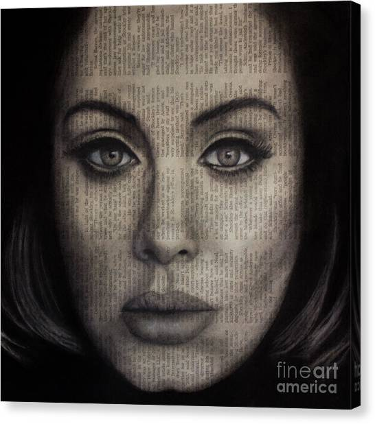Art In The News 72-adele 25 Canvas Print