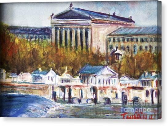 Art Museum Canvas Print by Joyce A Guariglia