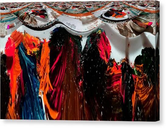 Art News Room Canvas Print