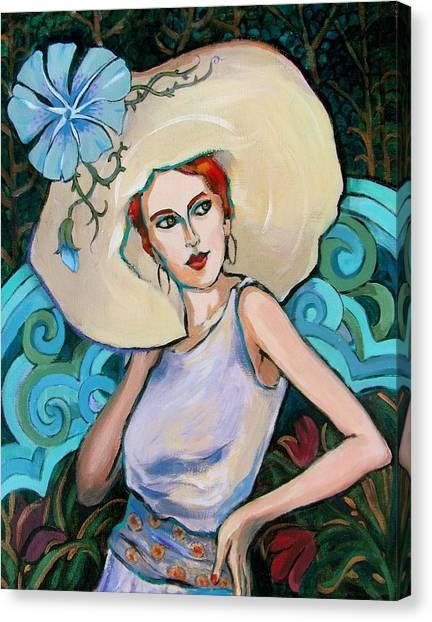 Art Nouveau Canvas Print by Dianna Willman