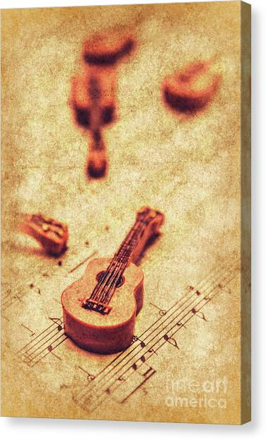 Classical Guitars Canvas Print - Art Of Classical Rock by Jorgo Photography - Wall Art Gallery