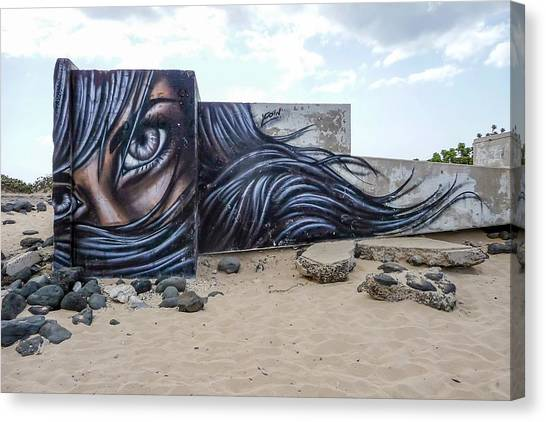 Art Or Graffiti Canvas Print