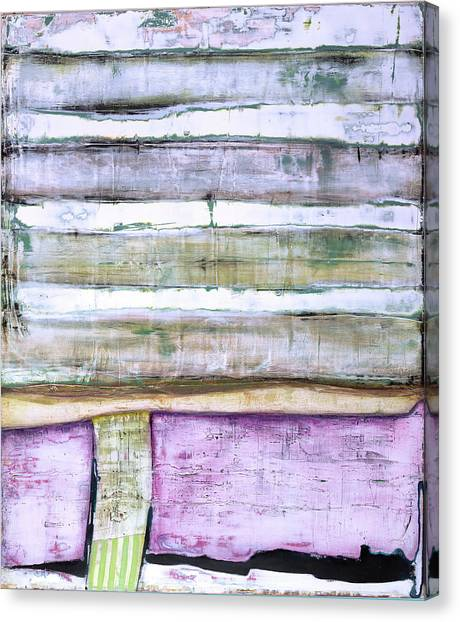 Canvas Print featuring the painting Art Print Abstract 93 by Harry Gruenert