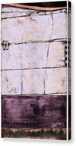 Canvas Print featuring the painting Art Print Abstract 100 by Harry Gruenert
