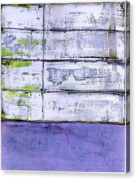 Canvas Print featuring the painting Art Print Abstract 70 by Harry Gruenert