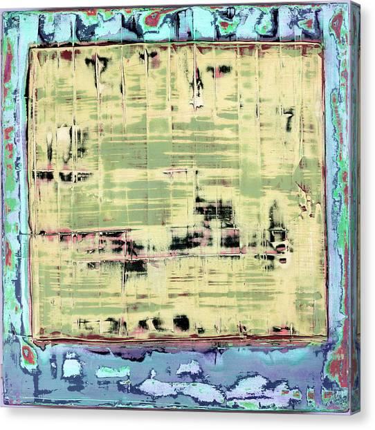 Canvas Print featuring the painting Art Print California 01 by Harry Gruenert