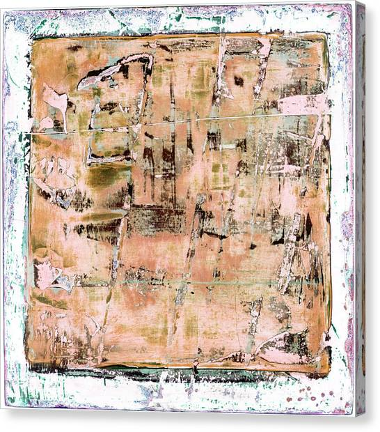 Canvas Print featuring the painting Art Print California 02 by Harry Gruenert