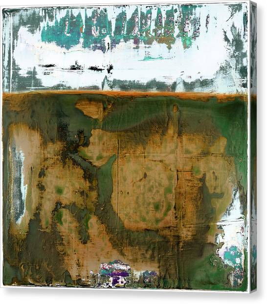 Canvas Print featuring the painting Art Print California 04 by Harry Gruenert
