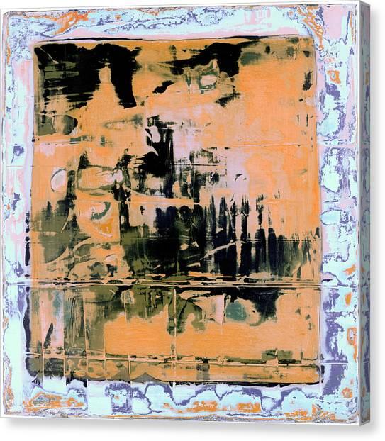 Canvas Print featuring the painting Art Print California 07 by Harry Gruenert