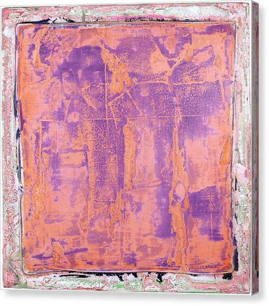 Canvas Print featuring the painting Art Print California 09 by Harry Gruenert