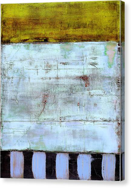 Canvas Print featuring the painting Art Print Highwire by Harry Gruenert