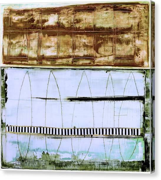 Canvas Print featuring the painting Art Print Malibu by Harry Gruenert