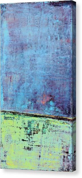 Canvas Print featuring the painting Art Print Sierra 14 by Harry Gruenert